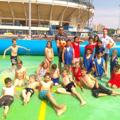 Vodní fotbal Teplice 2017/6