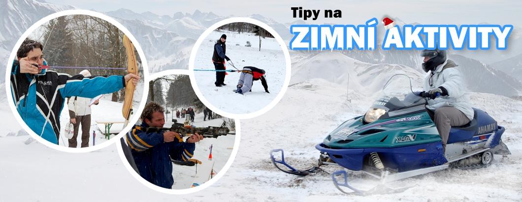 Tipy na zimní aktivity